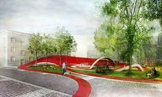 Propuesta para el Mercado y Plaza Zdunski / Mado Architekci | ArchDaily Brasil