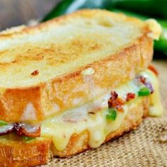 Jalapeno Popper Grilled Cheese - Will Cook For Smiles