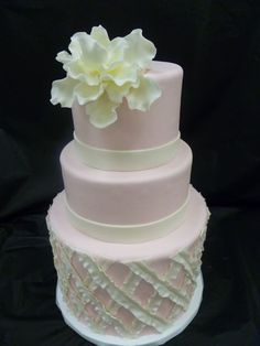 1000 images about pink cakes on pinterest wedding cakes pink wedding cakes and cakes. Black Bedroom Furniture Sets. Home Design Ideas