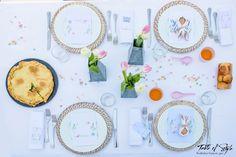 Colori pastello per la tavola di Pasqua - Taste of Style