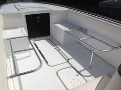 The Boating Forum - Check out my new folding seats! - My boat was lacking seating so I had some custom folding seats made. Duck Boat, Jon Boat, Whitewater Kayaking, Canoeing, Boat Organization, Ranger Boats, Center Console Fishing Boats, Sport Fishing, Fishing Tips