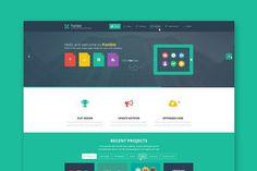 Flatible - One Page Wordpress Theme. WordPress Landing Page Themes