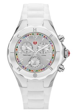 MICHELE 'Tahitian Jelly Bean - Topaz Carousel' Watch, 40mm available at #Nordstrom