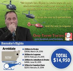 BUSTED! @Barnaby_Joyce just keeps getting caught out in lie after lie after lie. #choppergate2 #AusPol