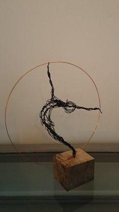 Paul Joyner Sculpture Studio, wire sculpture, Dancer