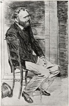 File:Edgar Degas - Manet Seated, Turned to the Right.jpg