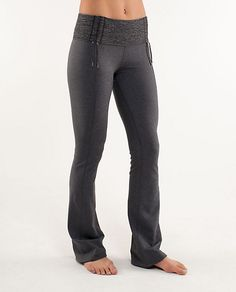 Um, I just got these on Wed, wearing them now, and I NEVER want to take them off! Thanks, Lululemon for the Recognition Pant.