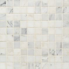 Pacific White Straight Joint Polished Mosaic | Artistic Tile