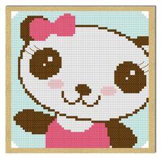 Cutie Bear Free Cross Stitch Pattern - Crafty Guild