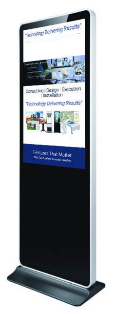 Stand Alone Kiosk Touch Screens #gustechnology #golf