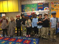 Morgridge Academy kindergarten and first grade students had fun learning about community helpers!