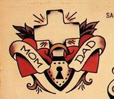 Sailor Jerry Cross tattoo