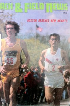 """Craig Virgin was a top US runner many years ago. He made 3 Olympic teams run), took second in the 1981 Boston Marathon and won the world cross country championship twice I met him at a """"Bran Chex"""" series event in San Antonio in I got an autograph… Cross Country, Country Roads, Bradley University, Steve Prefontaine, Boston Marathon, Olympic Team, Track And Field, Olympians, Long Distance"""