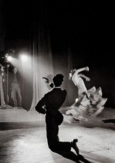 Flamenco Dancers photographed by Man Ray, 1957.