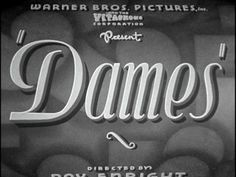 Dames movie title screenshot