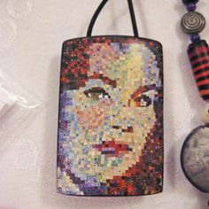 Julie Eakes mosaic inro from extruded canes on PCD