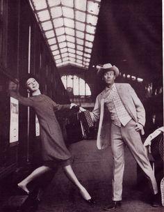 Audrey Hepburn and Mel Ferrer photographed by Richard Avedon for Harper's Bazaar