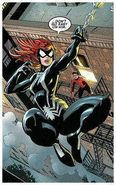 MJ Parker Watson/ Spinneret symbiote (Renew Your Vows)