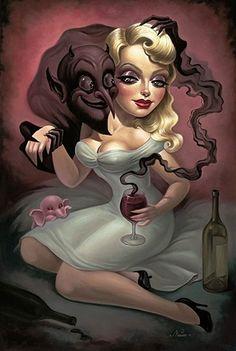 Better the Devil You Know by Nouar Noir
