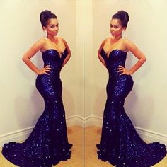 royal blue prom dresses - Google Search