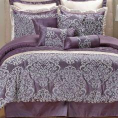 Anastasia Purple Comforter Sets - Bed Bath & Beyond ...