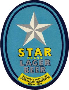 Sierra Leone beer label | Flickr - Photo Sharing!