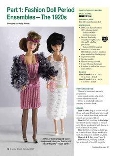 Fashion Doll Period Ensembles - The 1920s - D Simonetti - Picasa Web Albums