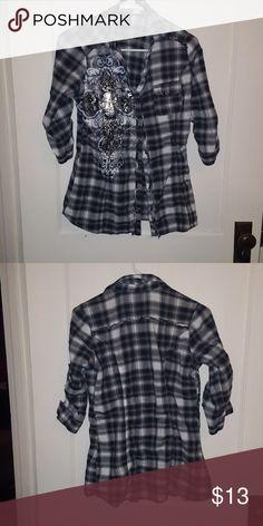 🐂Western looking shirt Vanity sweater shirt Vanity Tops Button Down Shirts