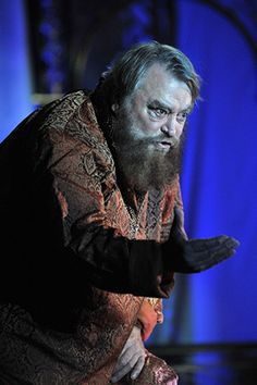 2015 - Brian Blessed as 'King Lear'     © Guildford Shakespeare Company