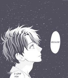 "Hirunaka no Ryuusei. ""Because I love you."""