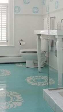 If you re on a tight budget and looking to make a big change painted floors can make a huge - Make wood floors shiny looking like new ...