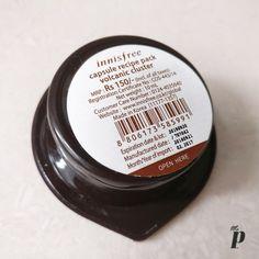 Innisfree Face mask Review of Capsule recipie Pack in Volcanic Scoria8 (3)