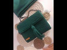 DIY | Penye Ip ile Canta Yapimi (Part 2)/ Bag with Tshirt Yarn handmade - YouTube
