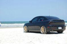 lowered Mazda <3