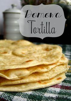 Najlepsza domowa Tortilla - jak zrobić. - Farmażony Tortilla Pizza, Pizza Snacks, Good Food, Yummy Food, Health Eating, Food Porn, Food And Drink, Healthy Recipes, Cooking