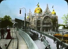 Exposition Universelle, Paris, 1900.