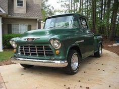 1955 Chevy Short Bed Series Big Back Window for jon Chevy Pickup Trucks, Classic Chevy Trucks, Gm Trucks, Chevy Pickups, Chevrolet Trucks, Cool Trucks, Chevy Classic, Antique Trucks, Vintage Trucks