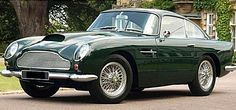 Aston Martin GT The Aston Martin GT made its premiere at the 1959 London Motor Show. The car was designed by Aston Martin and used the Superleggera. Aston Martin Lagonda, Aston Martin Cars, My Dream Car, Dream Cars, Supercars, Automobile, Best Classic Cars, Car In The World, Fiat 500