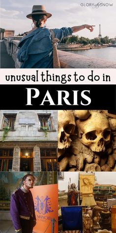 Top 5 unique things to do in Paris - the most unusual attractions you will EVER find! | hidden gems in Paris | unusual things to do in Paris | secret spots in Paris | what to do in Paris that is less touristy | quirky things to do in Paris | best unique places in Paris | fun things to do in Paris | adventurous things to do in Paris | secret Paris attractions | spooky things to do in Paris | alternative things to do in Paris | best things to do in Paris #paris #unique #travel Unusual Things, Things To Do, Europe Travel Tips, Travel Destinations, Travel With Kids, Family Travel, Monaco, Paris In Spring, Visit France