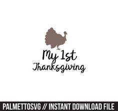 Silhouette Cameo, Silhouette Files, Monogram Fonts, Cutting Files, Cricut, Thanksgiving, Clip Art, Zip, Reading