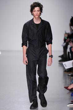 I would love a nice jumpsuit.  Lou Dalton Spring 2014 Menswear #jumpsuit