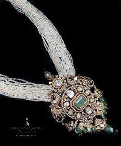 Designer Jewellery, Bead Jewellery, Jewellery Designs, Necklace Designs, Pearl Jewelry, Pendant Jewelry, Gold Jewelry, Beaded Jewelry, Beaded Necklace