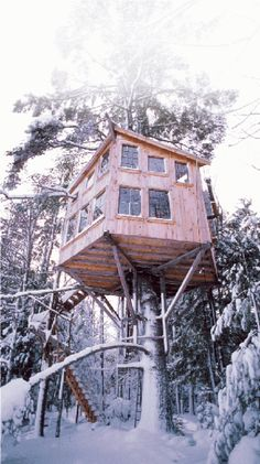 treehouse by the treehouse guy - peter lewis - usa  http://treehouseguy.wordpress.com