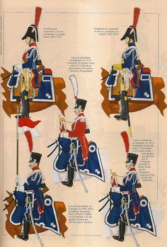 Gendarmerie à cheval, 1804-1815