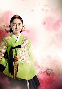 """Kim The Hee in hanbok , Drama: """"Jang Ok Jung"""" Korean Hanbok, Korean Dress, Korean Outfits, Korean Traditional Clothes, Traditional Dresses, Best Historical Dramas, Jang Ok Jung, Kim Tae Hee, Yoo Ah In"""