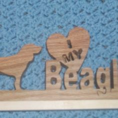 I love my Beagle plaque by Fine Crafts on Opensky