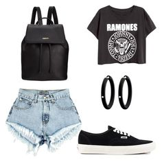 """Untitled #84"" by shled ❤ liked on Polyvore featuring moda, DKNY, André Ribeiro e Vans"