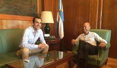 Semanario de Junin: Importante reunión de Petrecca con el Ministro de ...