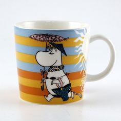 アラビア(ARABIA) ムーミン(Moomin) マグ(On the Beach)※2008年期間限定品