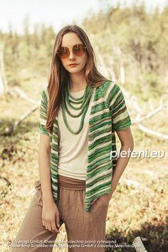 Letní kabátek a náhrdelník – PLETENÍ – NÁVODY Sweaters, Fashion, Moda, La Mode, Pullover, Sweater, Fasion, Fashion Models, Trendy Fashion